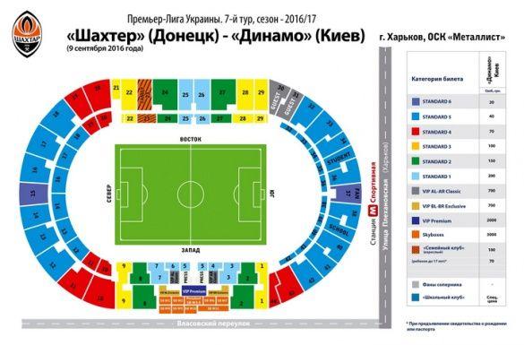 Шахтар - Динамо квитки