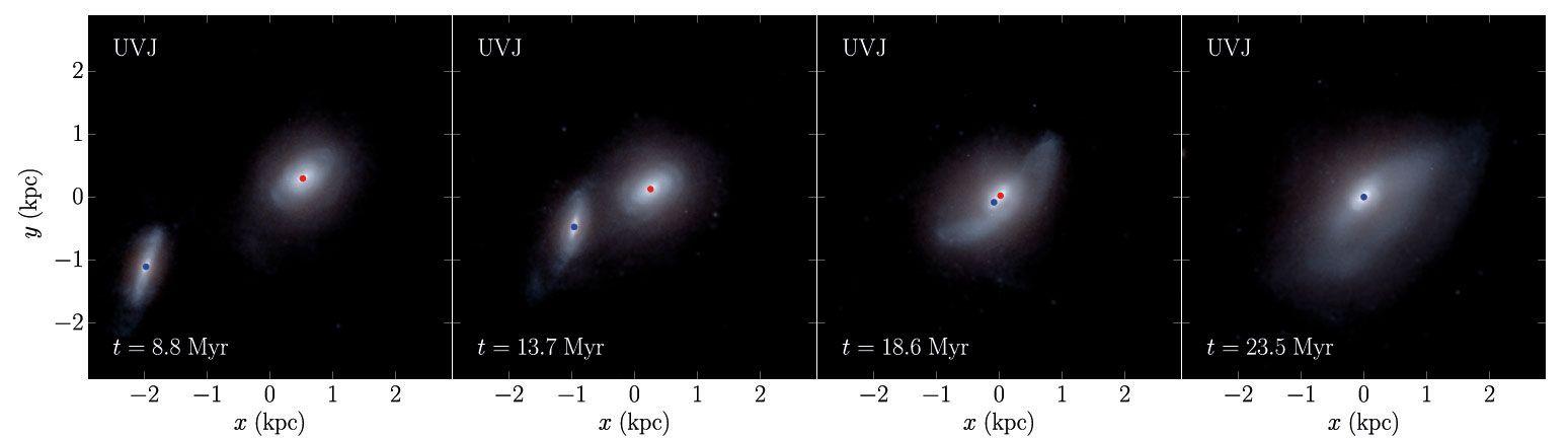 Учені вирахували час появи гравітаційних хвиль після злиття двох чорних дір