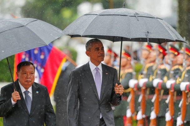 Найяскравіші фото дня: підготовка до хаджу у Мецці, історичний візит Обами до Лаоса