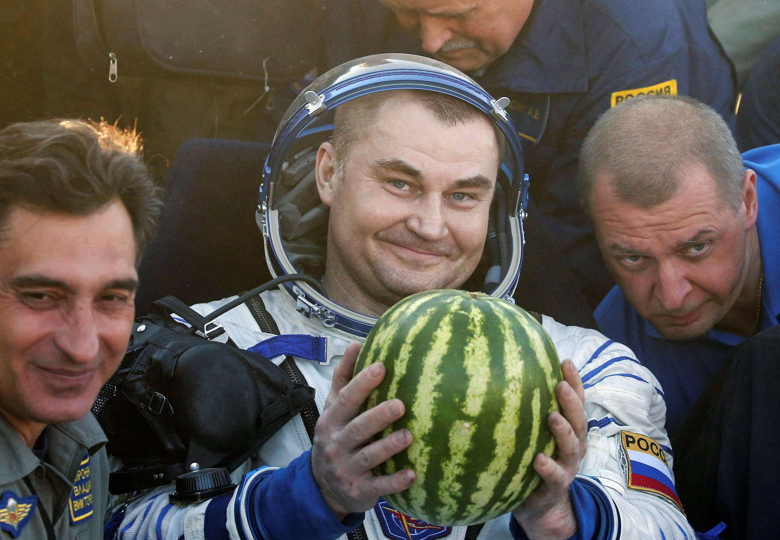 Астронавти повернулися з МКС_1