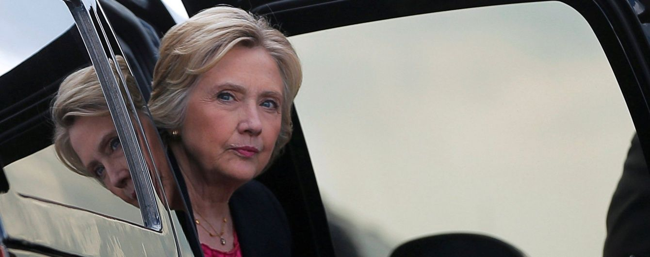 У Клінтон виявили пневмонію