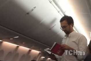 Нардеп Лещенко після квартирного скандалу полетів до Тбілісі – Пинзеник