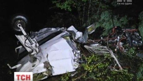 В горах Македеонії розбився легкомоторний літак