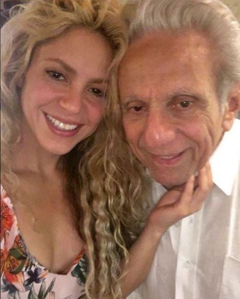 Шакіра із батьком _1