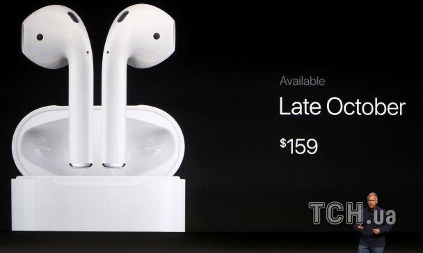 Новинка від Apple: бездротові навушники Air Pods з управлінням Siri