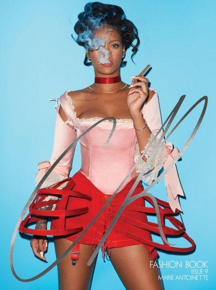 Ріанна для CR Fashion Book