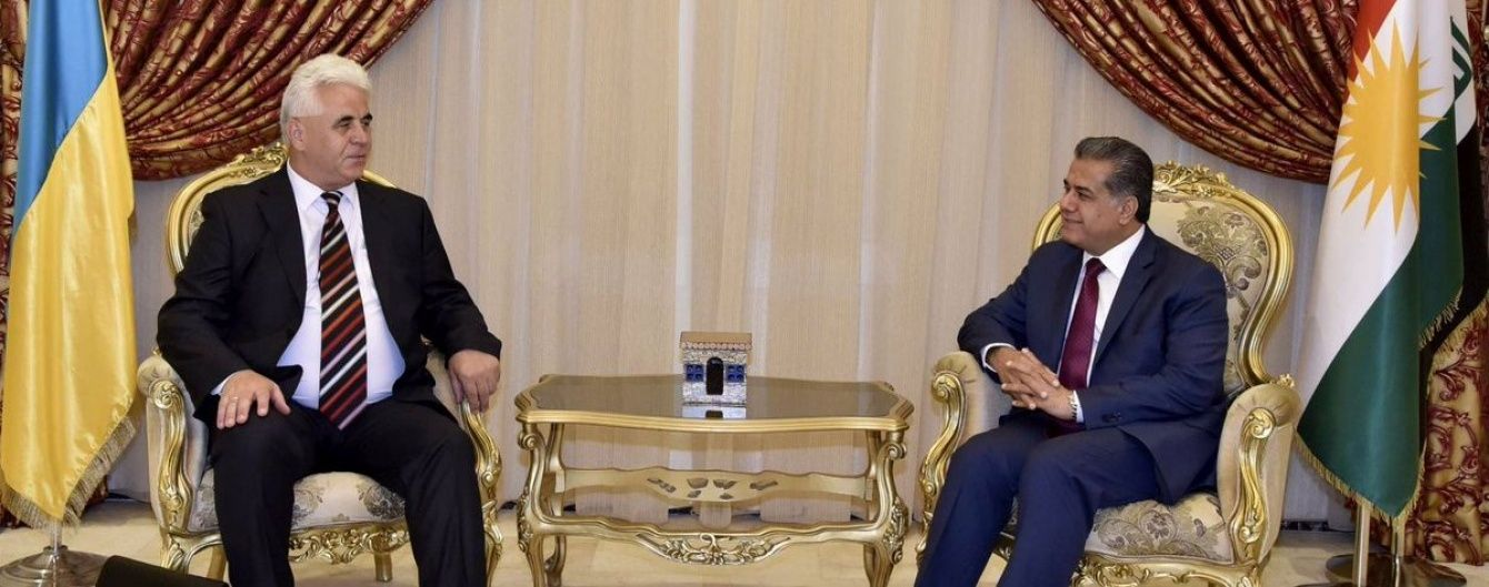 Україна відкриє своє Почесне консульство в Іракському Курдистані