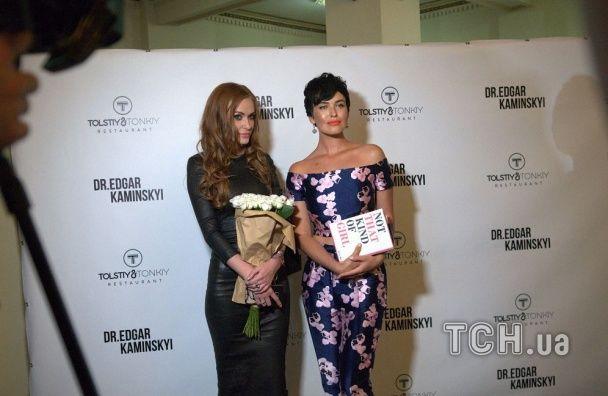 """Розкішні """"НЕАНГЕЛ"""" Слава та Астаф'єва завітали на показ фільму про пластичні операції"""