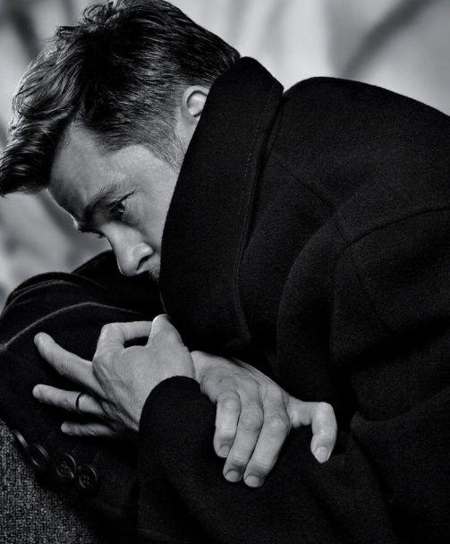Харизматичний красень Бред Пітт знявся у стильній фотосесії