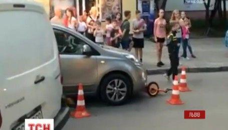 Львів'янка збила трирічного хлопчика на пішохідному переході