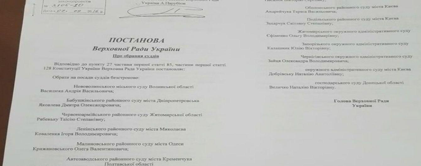 Суддя, що розігнав Євромайдан в Чернігові, претендує на пожиттєве призначення