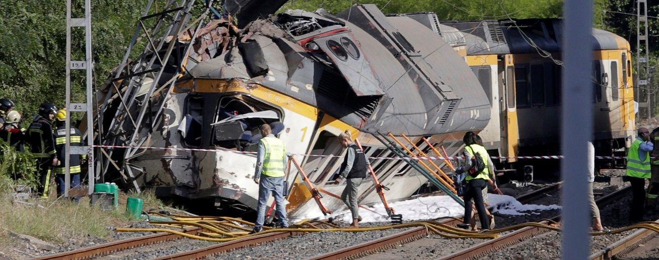 В Іспанії у залізничній аварії загинуло щонайменше троє пасажирів