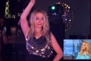 50-річна Ольга Сумська звабила східним танцем на свій ювілей