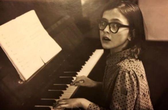 Ольга Сумська в дитинстві