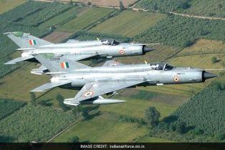 В Індії розбився винищувач МіГ-21