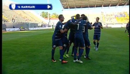 Заря - Сталь - 0:1. Видео гола Карикари