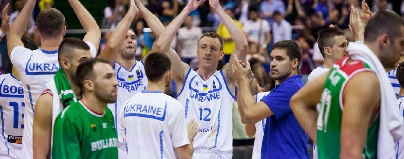 Баскетбольна збірна України на виїзді здолала Болгарію у кваліфікації чемпіонату Європи