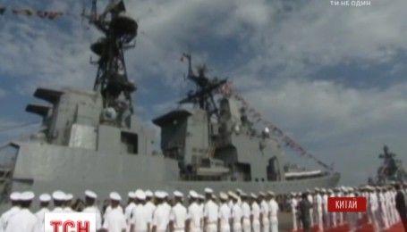 Россия и Китай проводят совместные военные учения в Южно-Китайском море