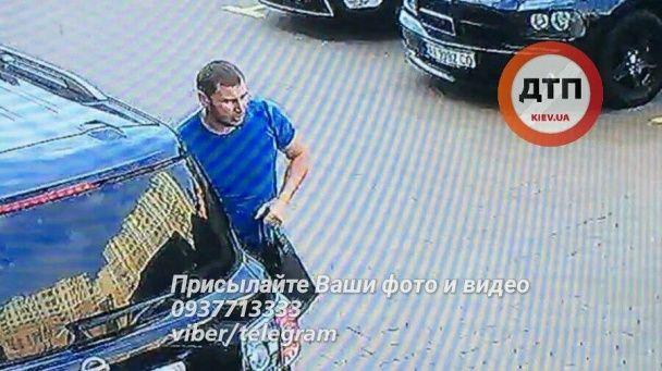 В Киеве неизвестные похитили молодую пару и вывезли на автомобиле с латвийскими номерами