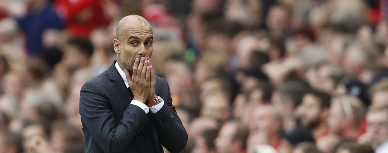 """Гвардіола пророкує провал """"Манчестер Сіті"""" в Лізі чемпіонів"""