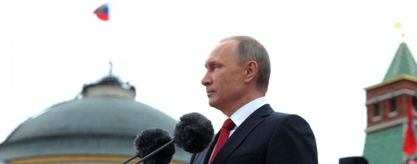 Рейтинг довіри до Путіна зріс до рекордів 2012 року