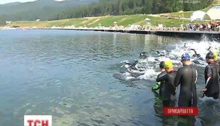 """Олімпійські ігри по-карпатськи: на курорті """"Буковель"""" відбулися змагання з тріатлону"""