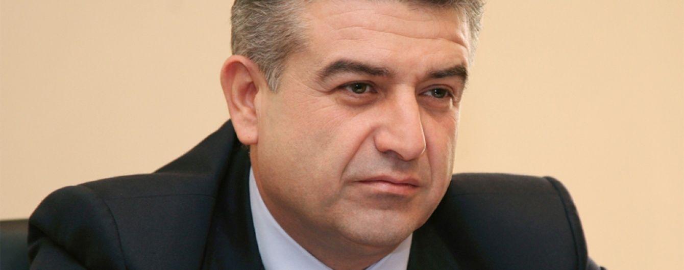 """Новим прем'єр-міністром Вірменії став топ-менеджер """"Газпрому"""""""