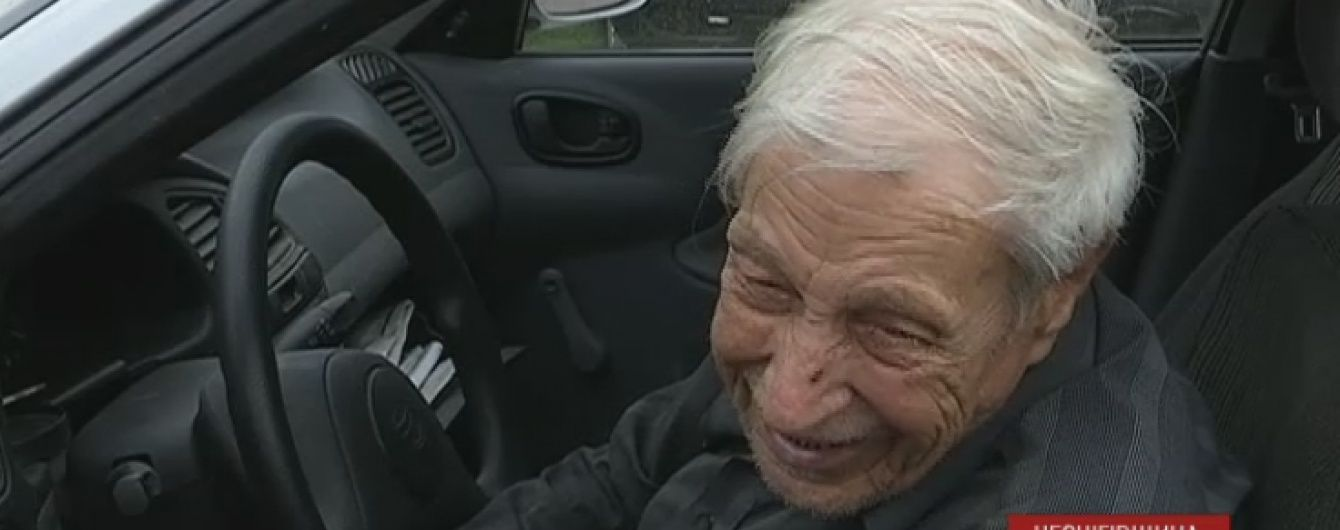 96-річний ніжинець визнаний найстаршим в країні водієм