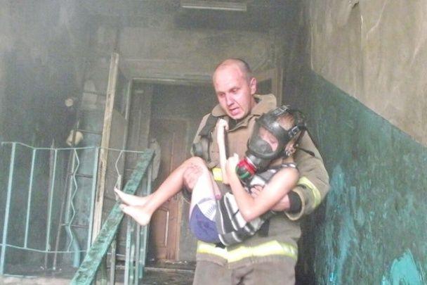 На одеському курорті спалахнула пожежа, постраждали діти