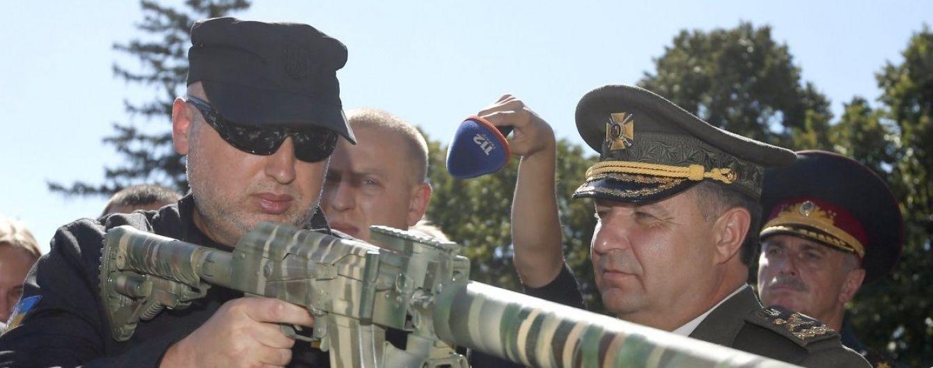 """Партнери постійно просили не брязкати зброєю і """"не провокувати Росію"""" - Турчинов"""