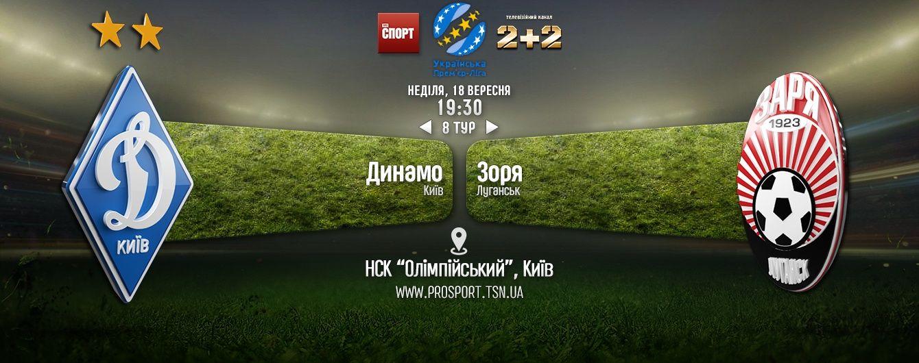Динамо - Зоря - 0:1. Відео матча