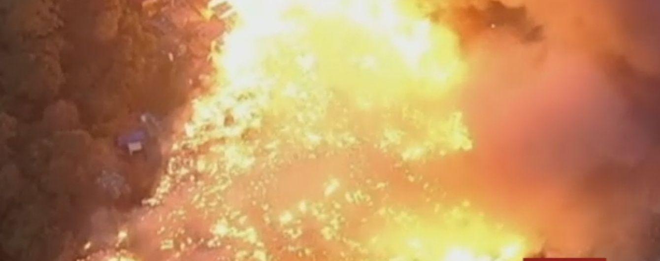 У бразильському Сан-Паулу згорів цілий квартал фавел