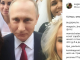 Путіна заскочили на селфі з підставними нареченими з ескорт-послуг