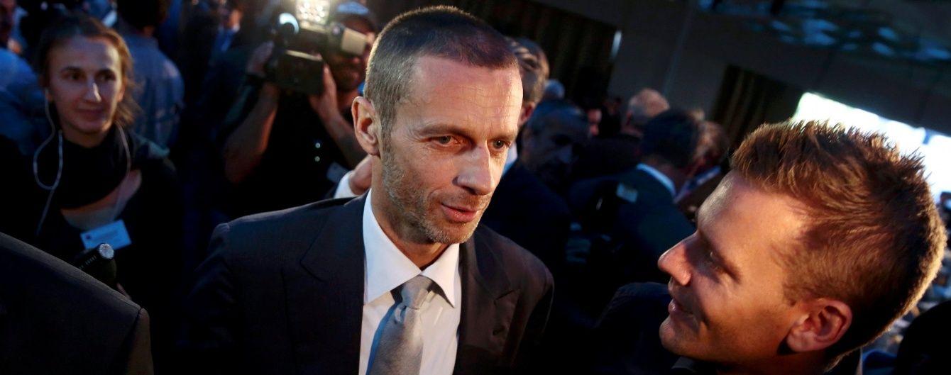 Новий президент УЄФА відвідає Україну