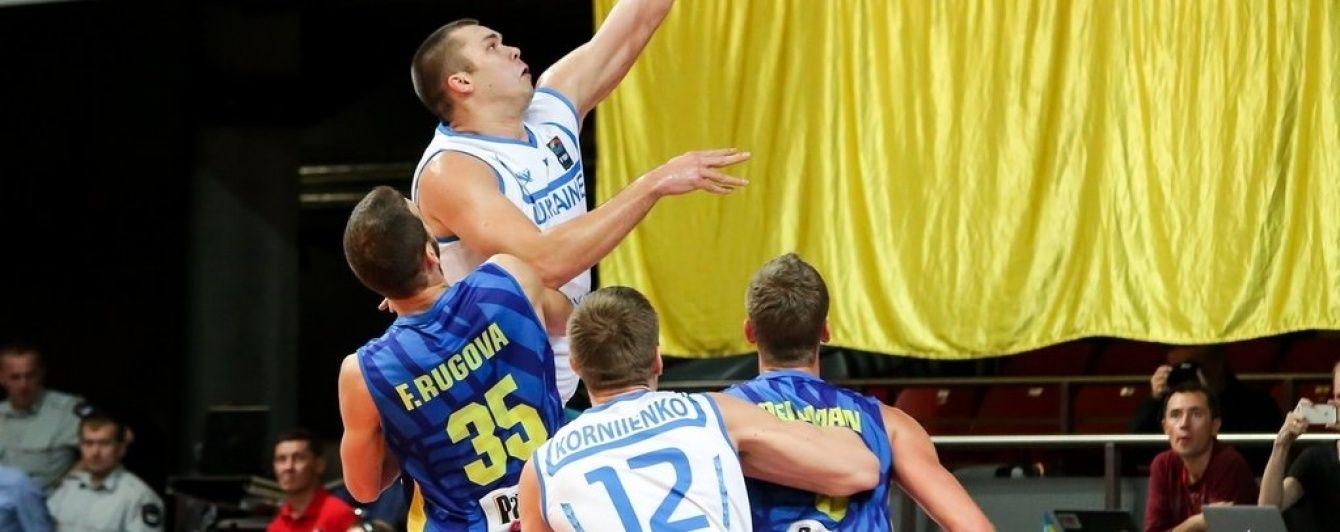 Збірна України розгромила Косово на шляху до Євробаскету-2017