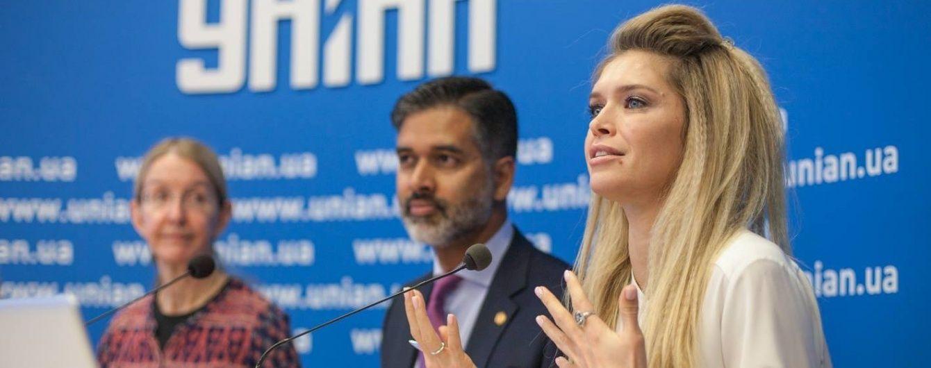 Віра Брежнєва стала обличчям інформаційної кампанії з профілактики ВІЛ