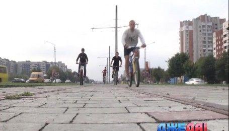 Во Львове сделали велодорожку за 30 миллионов евро