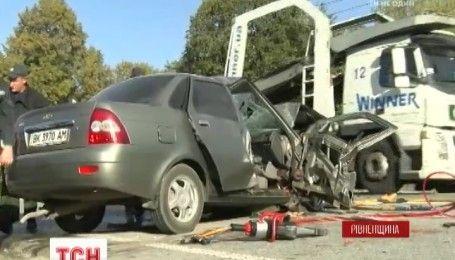 Смертельна ДТП на Рівненщині: загинули 3 чиновників Радивилівської райдержадміністрації