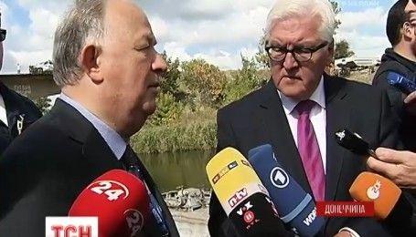 """Обманчивая тишина: европейские чиновники поехали в зону АТО проверить, как работает режим """"тишины"""""""