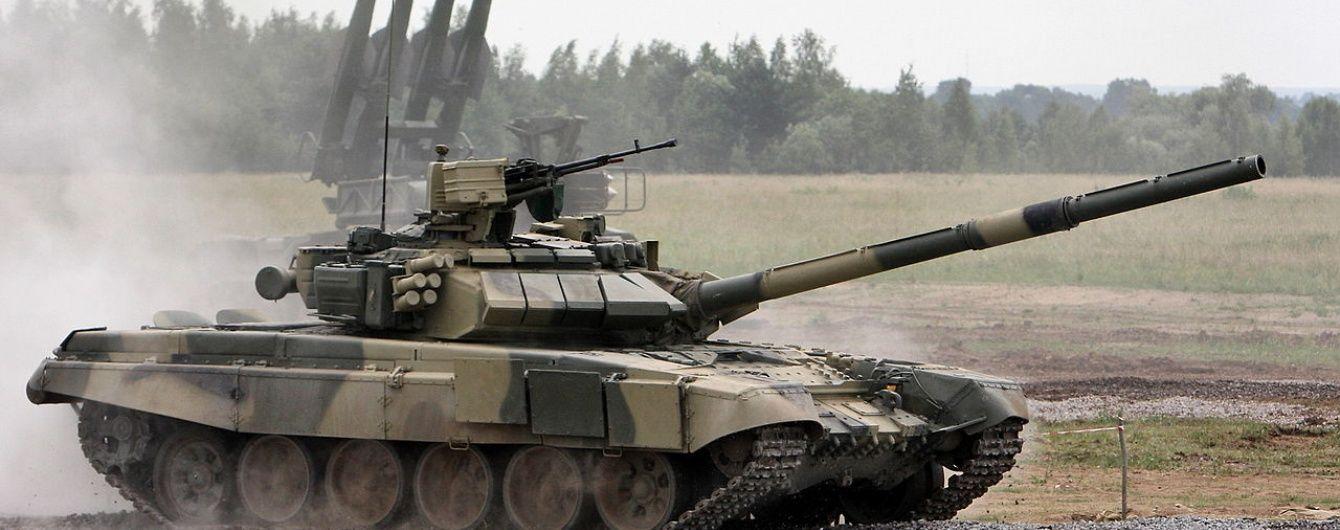У РФ під час навчань потонув танк