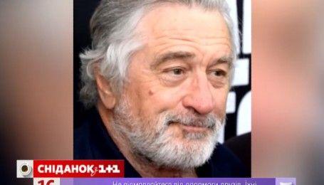 Роберт Де Ніро готується до ролі Папи Римського