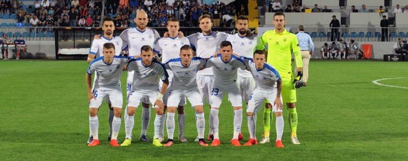 Хавбек чеського клубу забив найшвидший гол в історії Ліги Європи