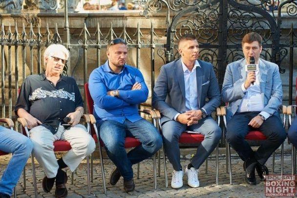 Усик та Гловацькі востаннє зустрілися перед поєдинком у Гданську