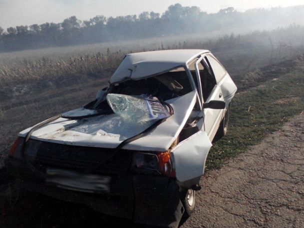 На Запоріжжі через задимлену дорогу зіткнулися одразу чотири авто, є жертви