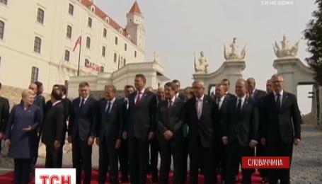 В Братиславе начался неформальный саммит лидеров стран ЕС