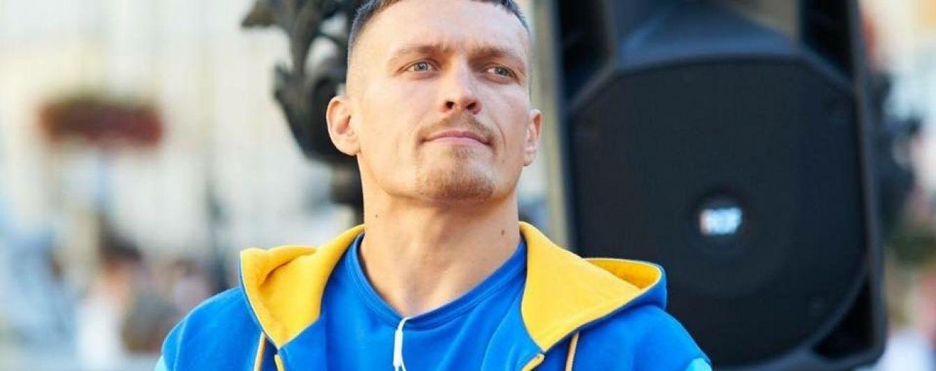 Тренер Усика рассказал о планах перейти в супертяжелый дивизион