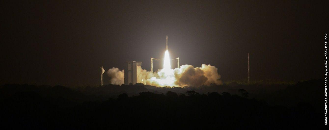 Ракета-носій Vega з українським двигуном вивела на орбіту супутники Google