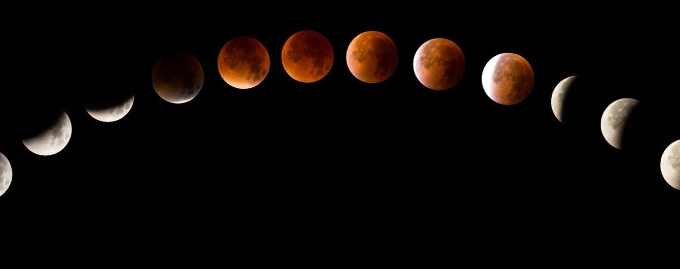 """""""Криваве"""" місячне затемнення 16 вересня. Як пережити та коли спостерігати в Україні"""