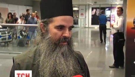 Монахи со святой горы Афон впервые посетили Киев