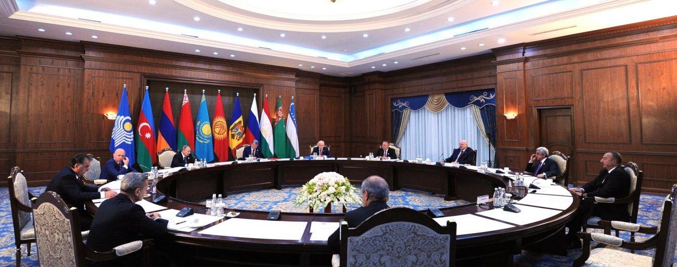 Україна виступила проти головування Росії в СНД в наступному році